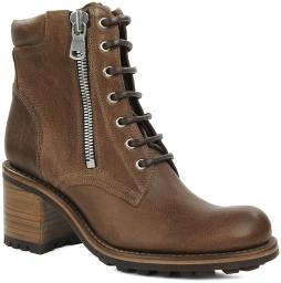Biker 7 mini boot ranger темно-коричневый FREE LANCE