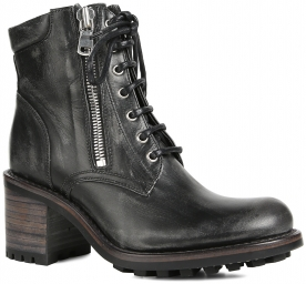 Biker 7 mini boot ranger темно-серый FREE LANCE. Цвет: черный