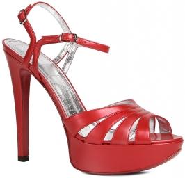 Emely 7 sandal 2 buckles красный FREE LANCE