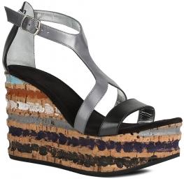 Straty 7 sandal line черный FREE LANCE. Цвет: серый