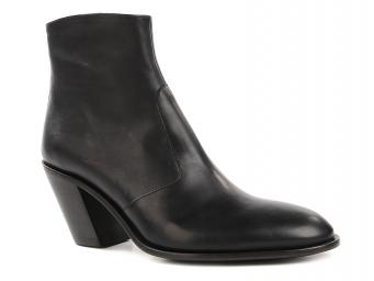Demy 7 hi zip boot черный FREE LANCE