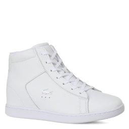 Сникерсы LACOSTE SPW0017 Carnaby Evo Wedge белый