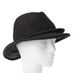 Шляпа CELINE ROBERT KATONE темно-серый