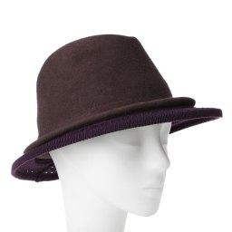 Шляпа CELINE ROBERT KATONE темно-фиолетовый