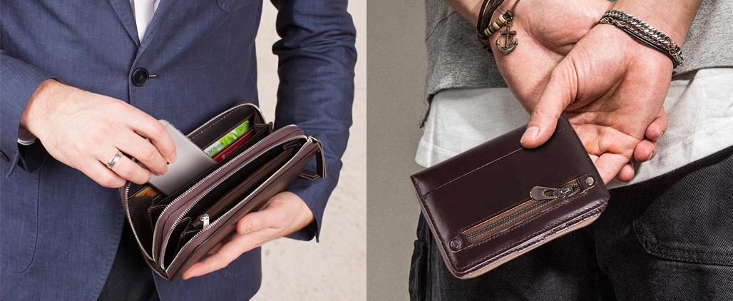 Чем отличается портмоне от кошелька?