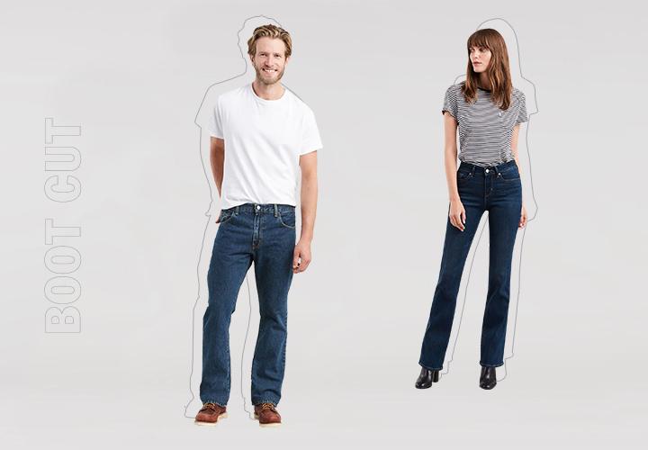 Гид по джинсам: буткаты, расклешенные, клеши