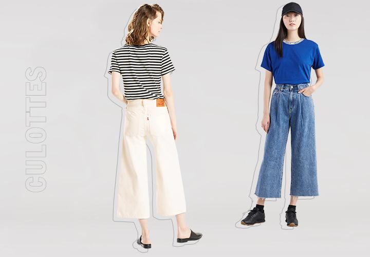 Гид по джинсам: кюлоты