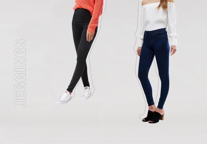Гид по джинсам: джегинсы