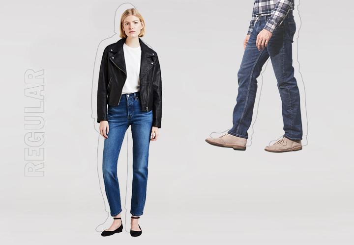 Гид по джинсам: прямые, классическая форма