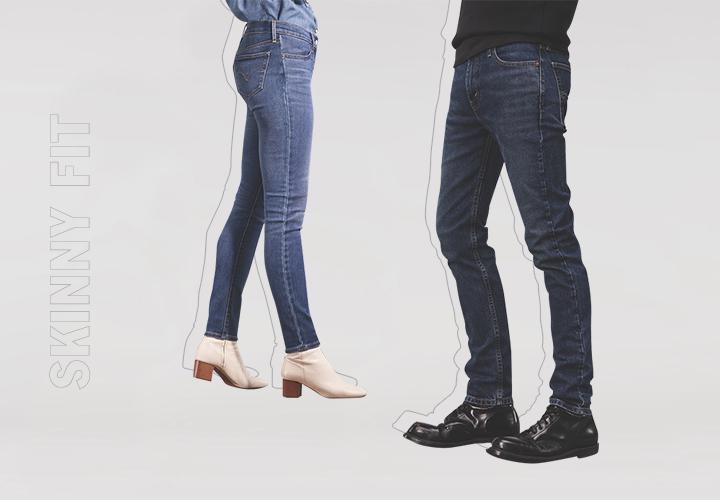 Гид по джинсам: узкие, скинни