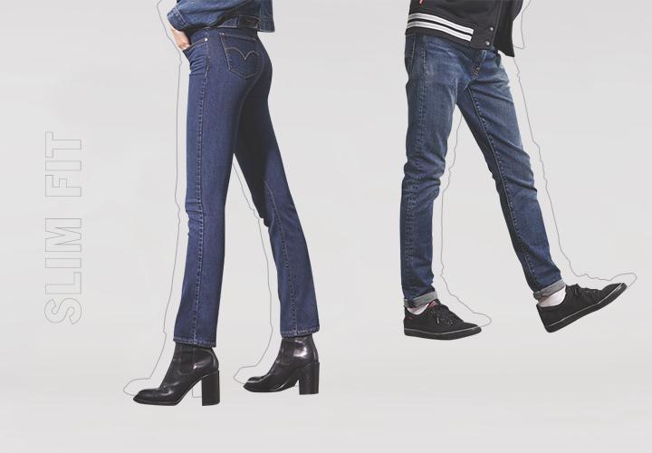 Гид по джинсам: зауженные, слим фит