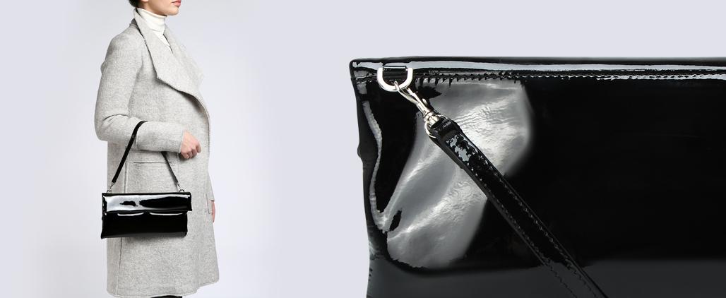 Как почистить лаковую сумку в домашних условиях?
