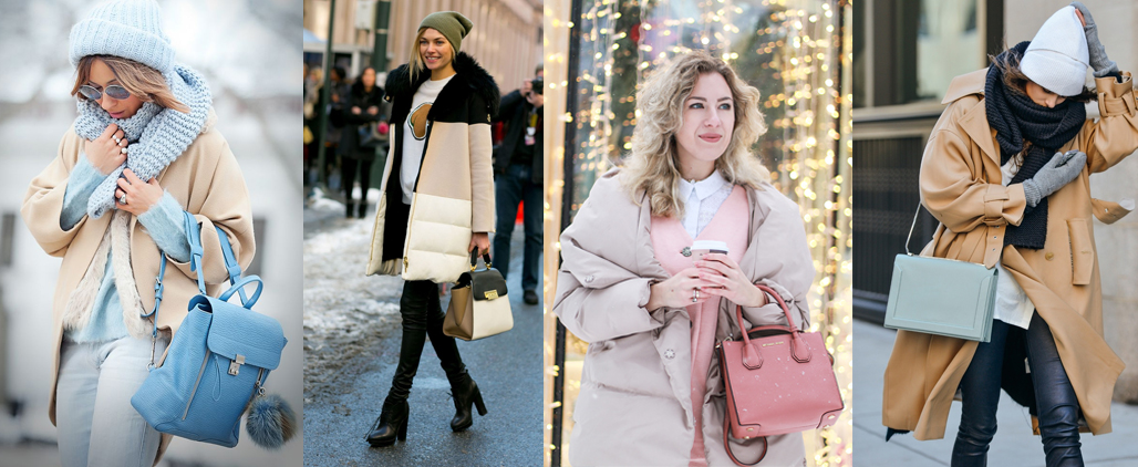 Как подобрать сумку к зимней одежде?