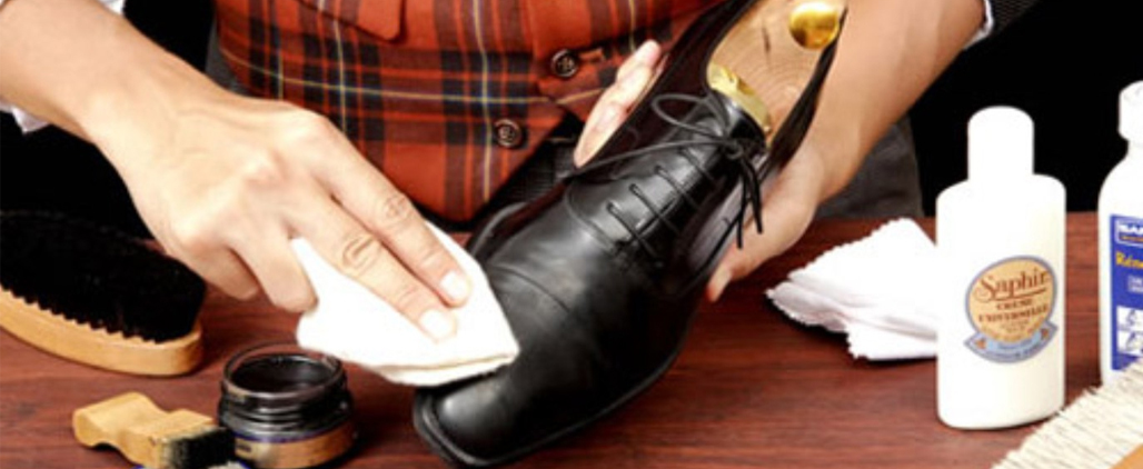 как убрать царапины с кожаной обуви?