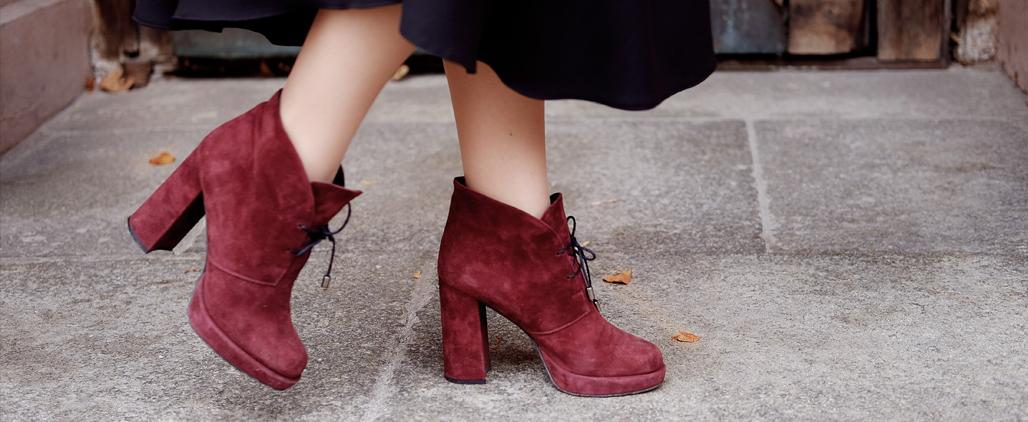 Как ухаживать за замшевой обувью зимой?