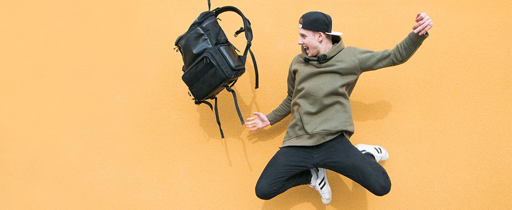 Как выбрать мужской рюкзак для города?