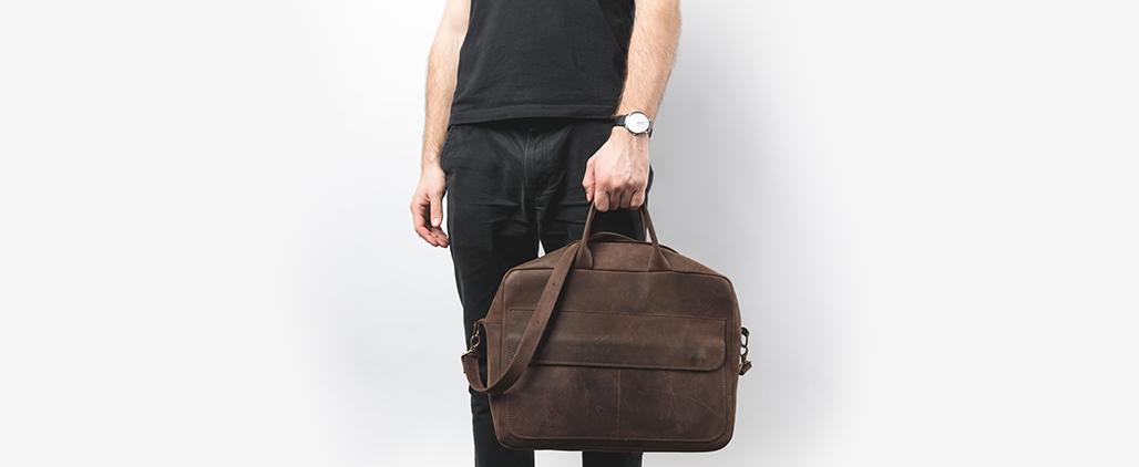 Классические мужские сумки на каждый день