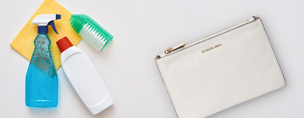 как почистить белую сумку в домашних условиях