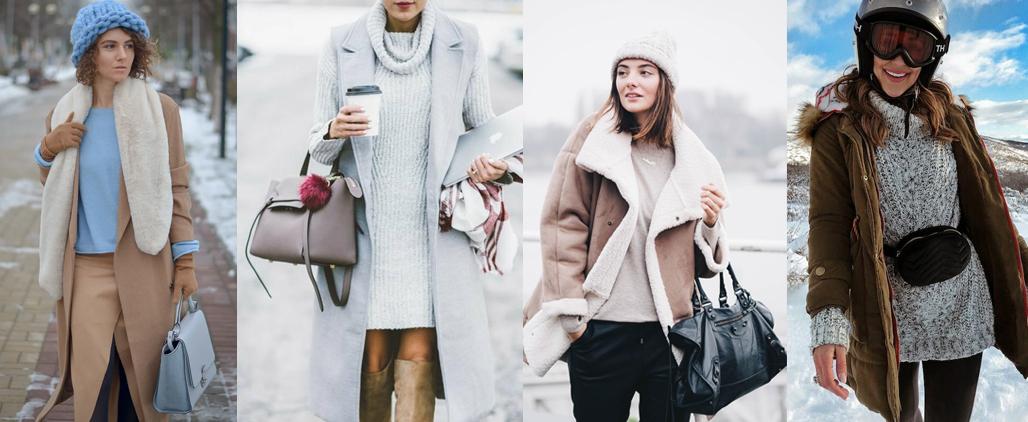 Какого цвета выбрать сумку на зиму?
