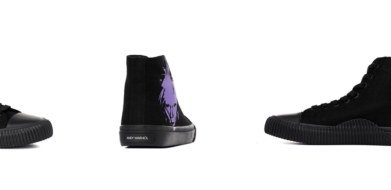 Кеды Calvin Klein Jeans Iconica с портретом Энди Уорхола (Andy Warhol)