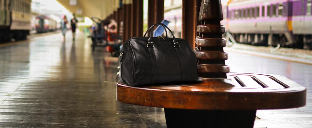 С чем носить сумку саквояж, фото